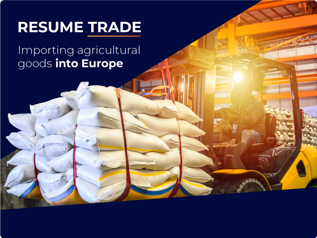 Exporting animals products to Europe