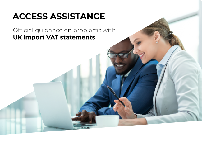 What to do if you can't access UK import VAT statements
