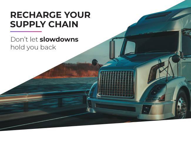 Truck driver shortages and supply chain slowdowns