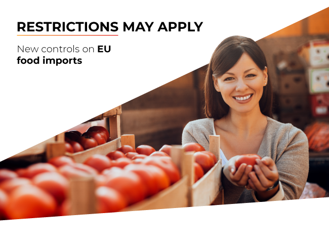 New EU food import rules add to Brexit worries